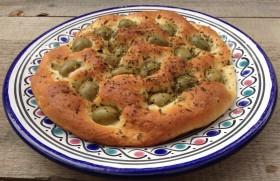 focaccia olive verdi