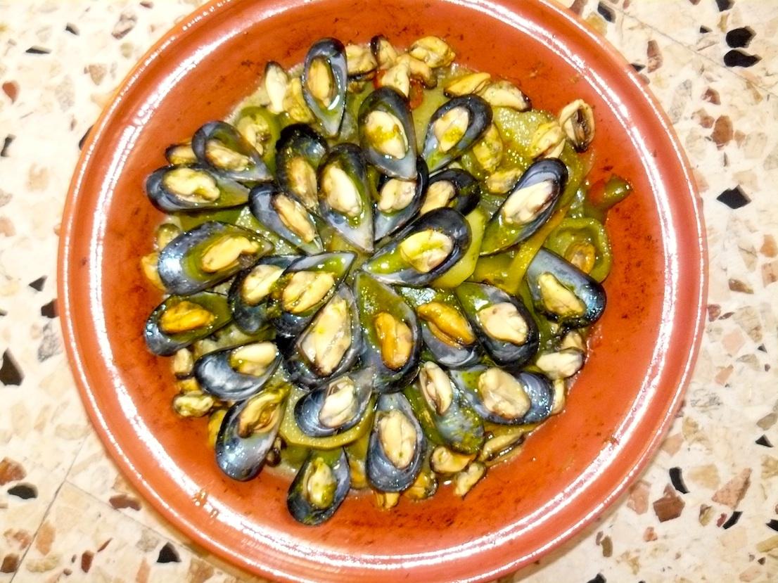 tajine di cozze e patate martino ragusa il blog