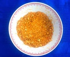 Copia di polvere di arancia