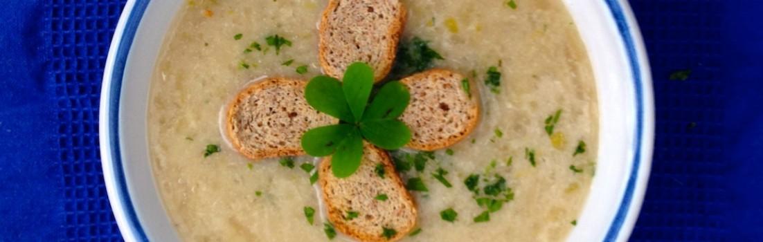 Zuppa di patate irlandese