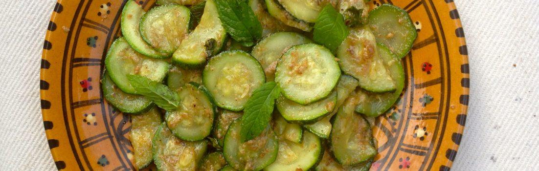 zucchine amaretti