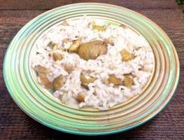 risotto castagne