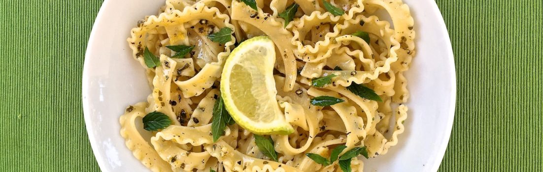 Copia di pasta al limone