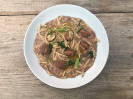 minestra castagne fiocchio
