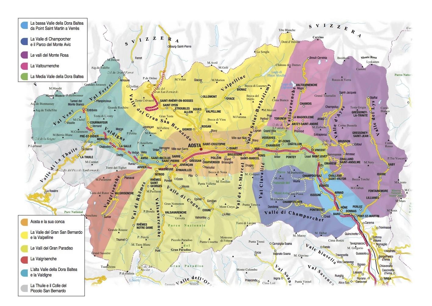 Cartina Stradale Valle D Aosta.La Cucina Della Valle D Aosta Non E Mezza Francese E Mezza Piemontese E Tutta Valdostana Martino Ragusa Il Blog